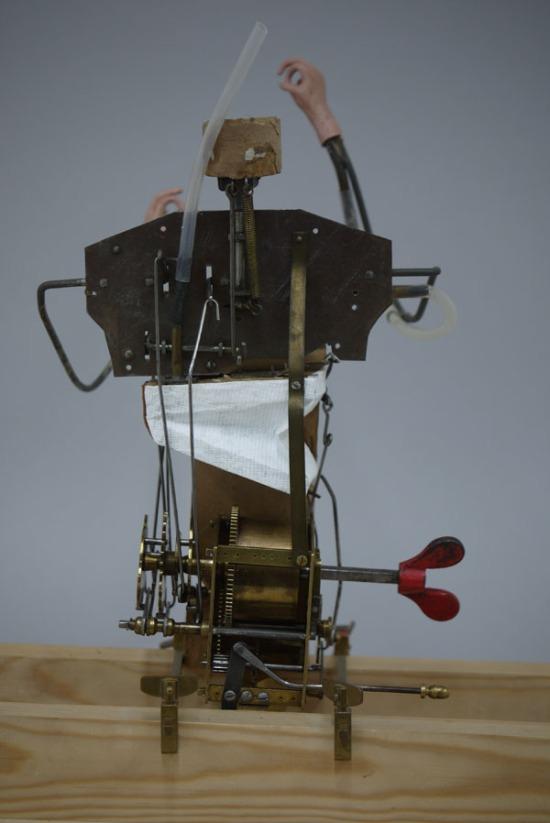 Hugo Cabaret Vichy Smoker automaton