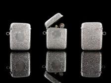 Silver lighter case