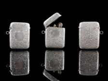 Silver lighter case