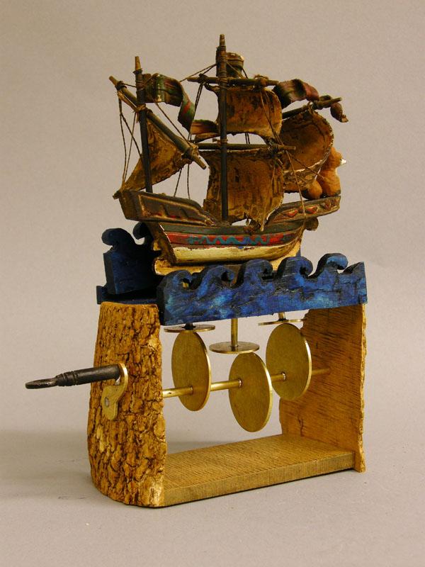 Nico Cox Brittany Cox toy automaton automata fox and ship