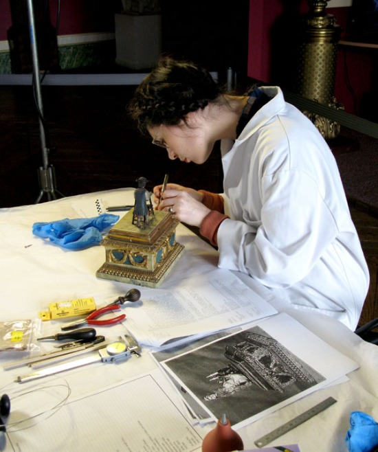 Nico Cox Brittany Cox clockmaking watchmaking automata Hugo The Silver Swan
