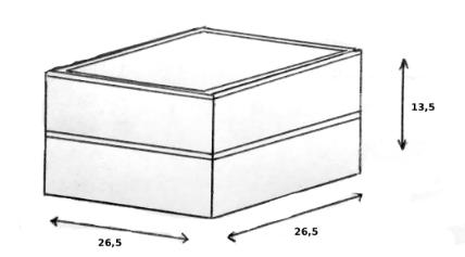 schéma dimensions