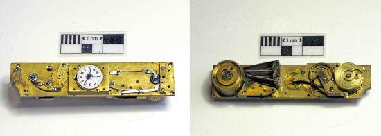 The watch & music mechanism