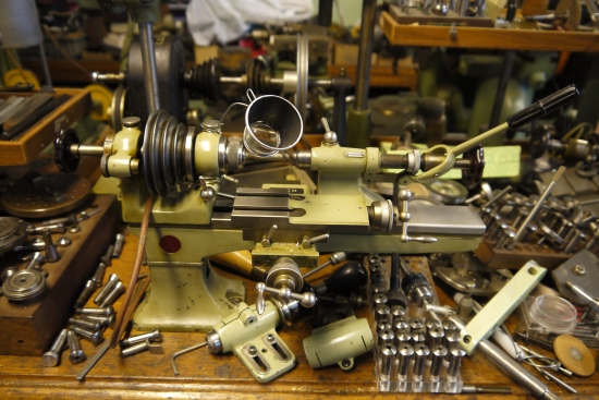 Levin 8mm watchmakers lathe