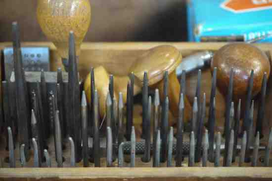 Silver smithing tools