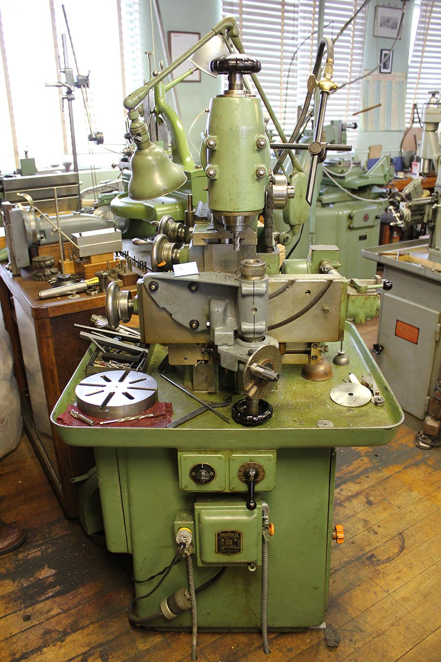 schaublin sv12 milling machine 171 memoria technica