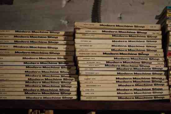 Collection of Modern Machine Shop publications