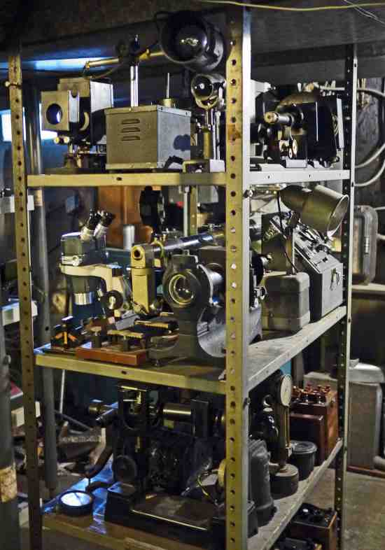Optical equipment, meters, laboratory lights