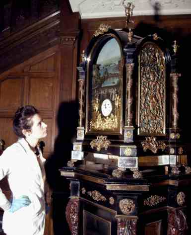 George Pyke clock, automata, automaton, clockmaking, watchmaking, brittany cox, nico cox, temple Newsam House, Ian fraser